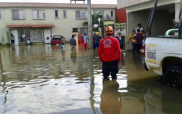 Lluvias dejan 150 mil afectados en Oaxaca - Foto de @alejandromurat