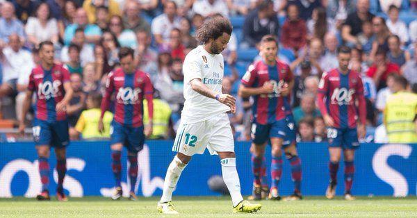 Real Madrid vs Levante quedan empatados a un gol - Foto de Twitter
