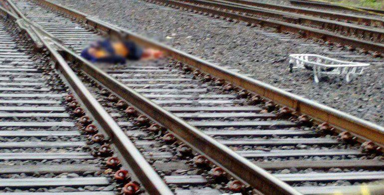 Trabajador del ferrocarril muere arrollado por tren - Foto de Quadratín