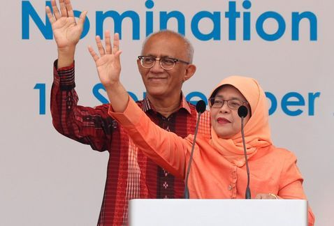Musulmana se convierte en presidenta de Singapur