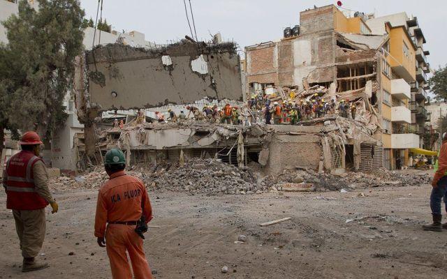 Reabren circulación en Eje 5 Sur Eugenia, colonia la Del Valle - Foto de El Heraldo de México
