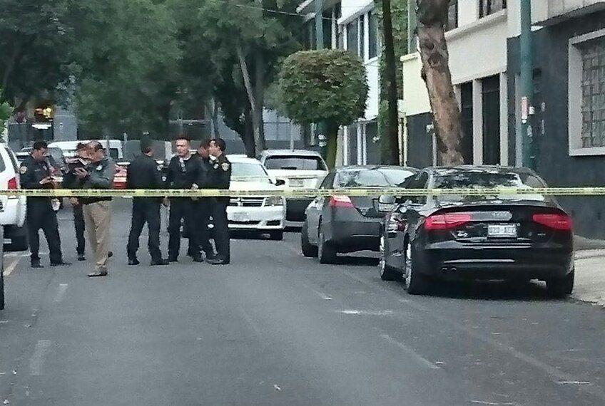Asesinan a hombre con arma de fuego en Miguel Hidalgo - Foto de @SUUMA_CDMX