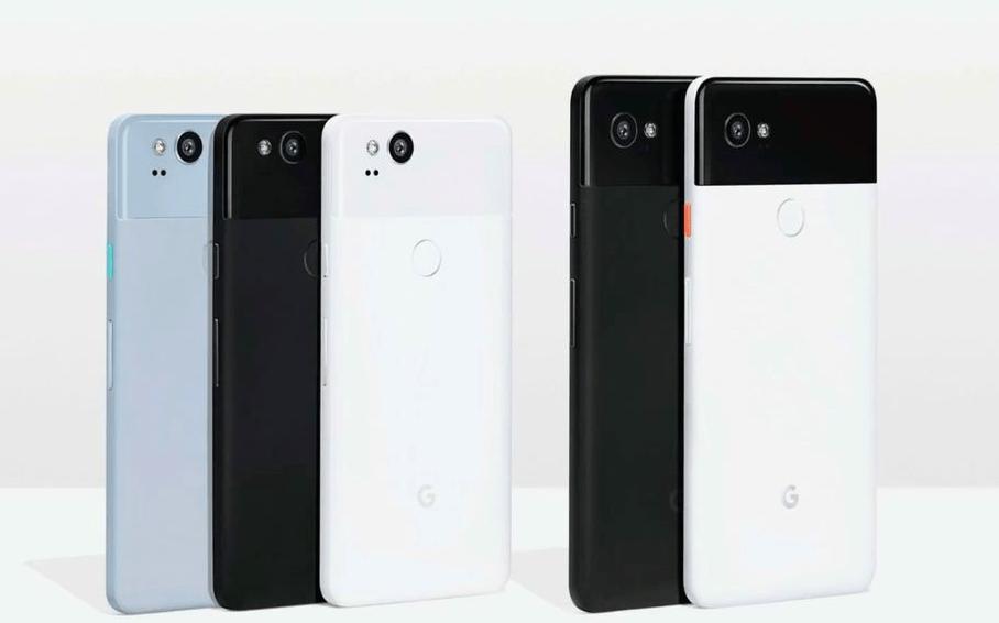Google anuncia Pixel 2 y Pixel 2 XL