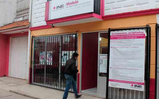 Reponen más de 32 mil credenciales para votar tras sismos - Foto de internet