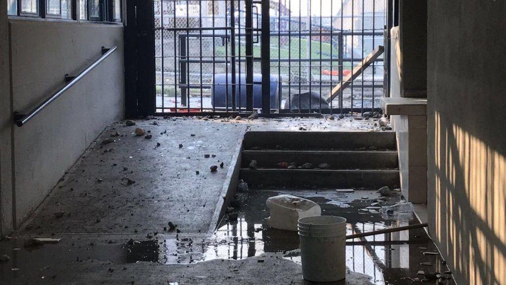 Vinculan a proceso a 11 reos en Cadereyta por motín - Foto de Twitter