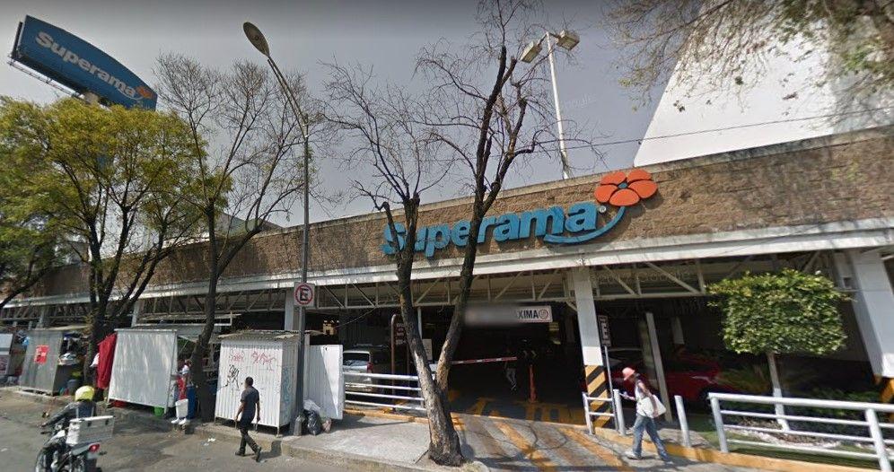 Hombre muere aplastado por elevador de automóviles en Mixcoac - Captura de Google Maps