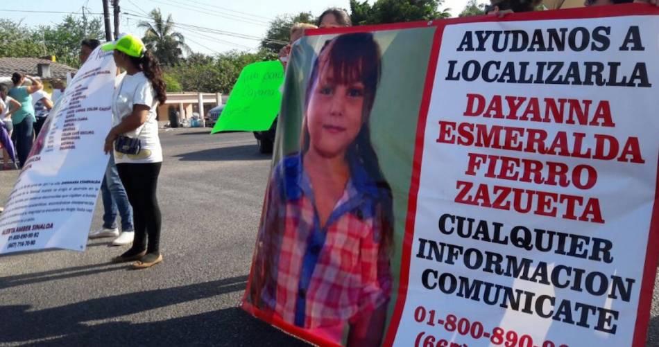 Encuentran cuerpo de niña desaparecida en Sinaloa