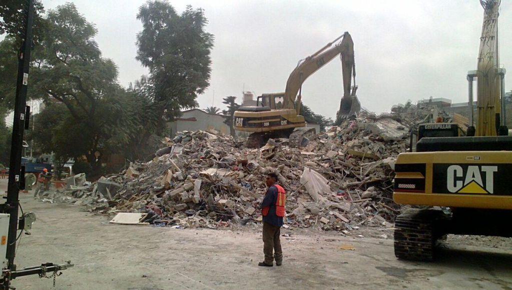 Programan demolición de dos edificios más en Ciudad de México
