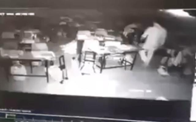 #Video Roban escuela de la Narvarte cerrada tras el sismo