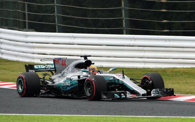 Hamilton logra la pole position en el GP de Japón - Foto de @F1