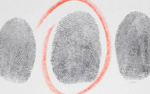 Descubren a presunto ladrón por huella digital - Foto de Internet