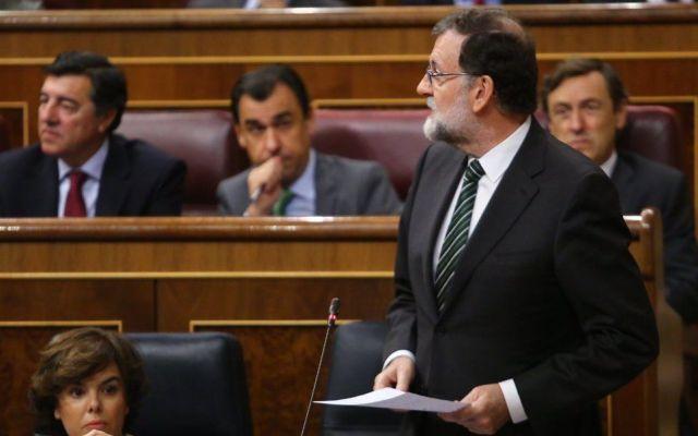 Rajoy pide a líder catalán que renuncie a secesión