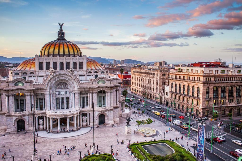 Las ciudades más seguras del mundo - El Palacio de Bellas Artes. Foto de Getty