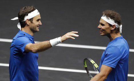 Nadal y Federer se enfrentarán en la final del Masters de Shanghai - Foto de AP