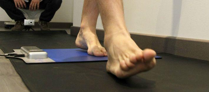 Importancia de la postura y los pies