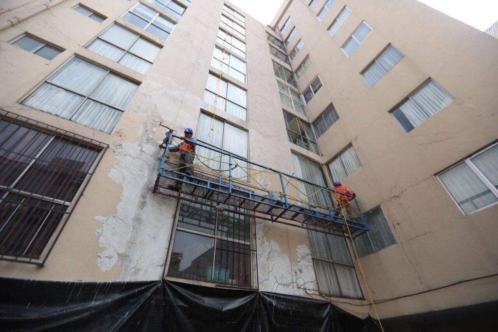 Crearán convenio para reconstrucción de viviendas en la Ciudad de México