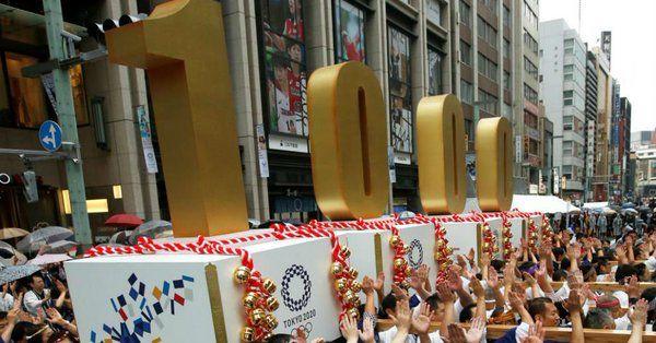 Tokio inicia oficialmente cuenta regresiva a mil días de JJ.OO. - Foto de Twitter