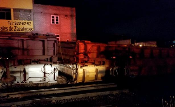 Descarrila tren en Zacatecas - Foto de El Sol de Zacatecas