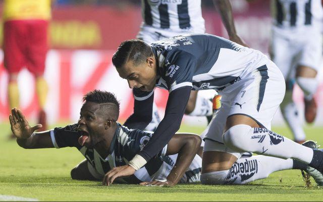 Monterrey con un pie adentro de la Final - Con un penal, Monterrey logra impornerse ante el Monarcar y está con un pie dentro de la Final de la Liguilla. MEXSPORT/Omar Martinez.