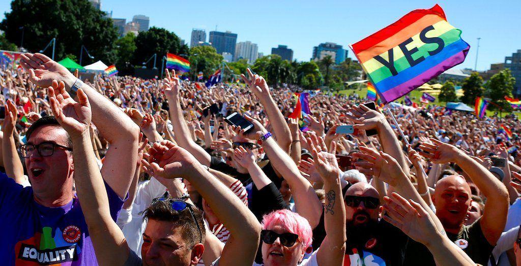 Australia vota a favor del matrimonio gay - Foto de BBC