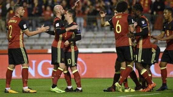 Bélgica jugará con sus estrellas frente a México