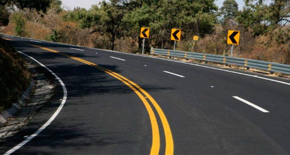 Realizarán cierres nocturnos en la carretera México-Toluca por construcción del Tren Interurbano - Cierres en carretera México-Toluca.Foto de archivo