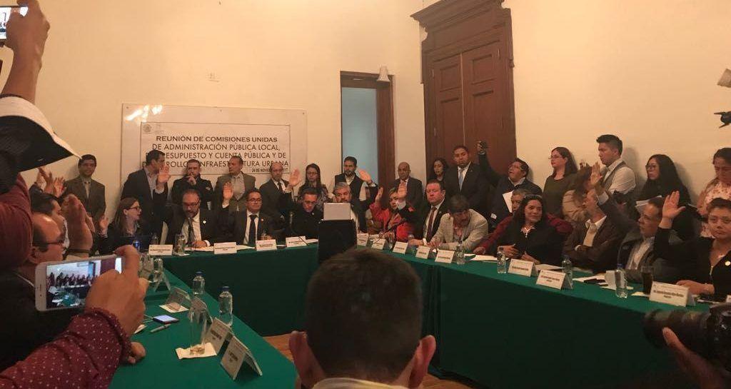 Comisiones Unidas aprueban dictamen de Ley de Reconstrucción - Foto de ALDF
