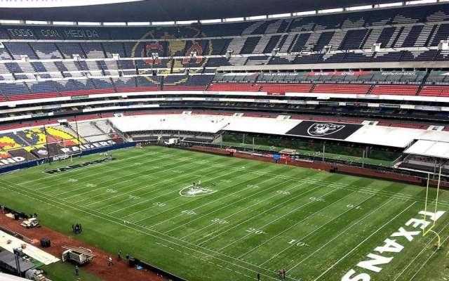 Habrá tres juegos oficiales de NFL más en el Estadio Azteca