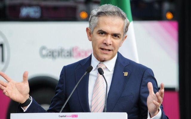 Se necesitan dos mil mdp para completar tren México-Toluca: Mancera