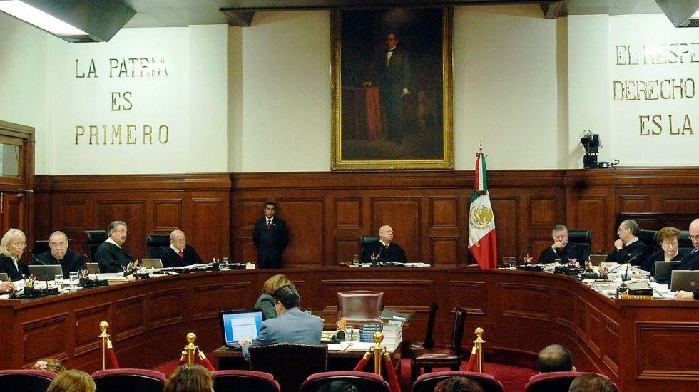 Admite SCJN a trámite controversias contra Ley de Seguridad Interior - Foto de Internet