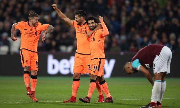Liverpool golea 4-1 al West Ham - Foto de PA/John Walton