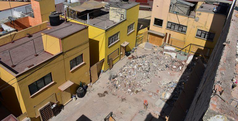 Concluyen trabajos de demolición en Escocia 33 - Foto de Quadratín