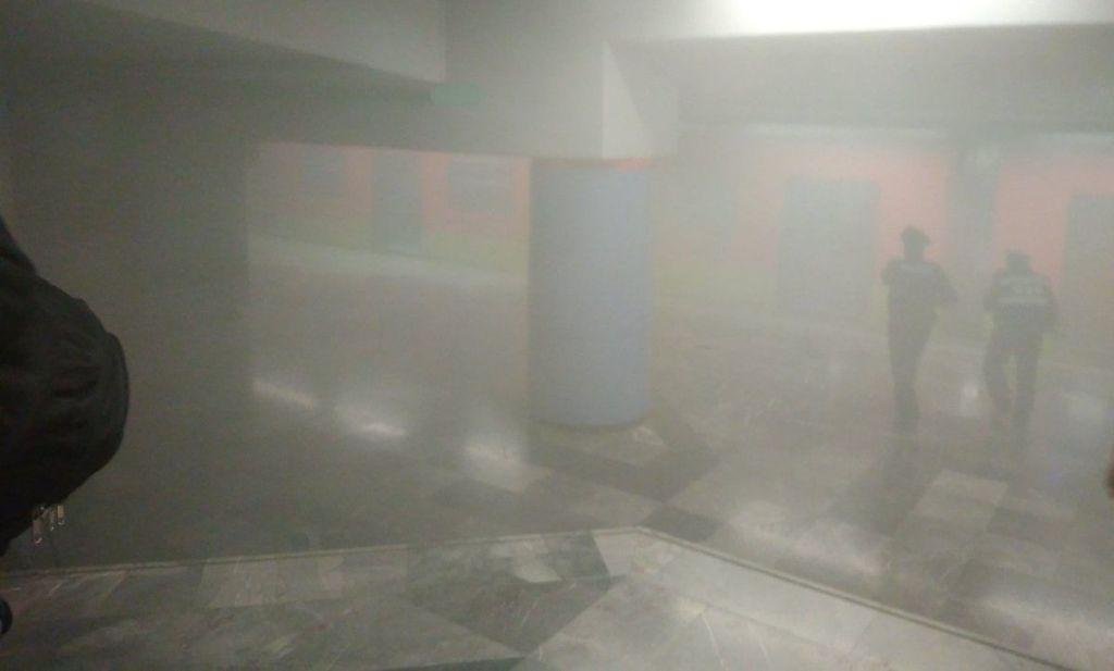 Metro niega que haya incendio en estación La Viga - Foto de @zoni10