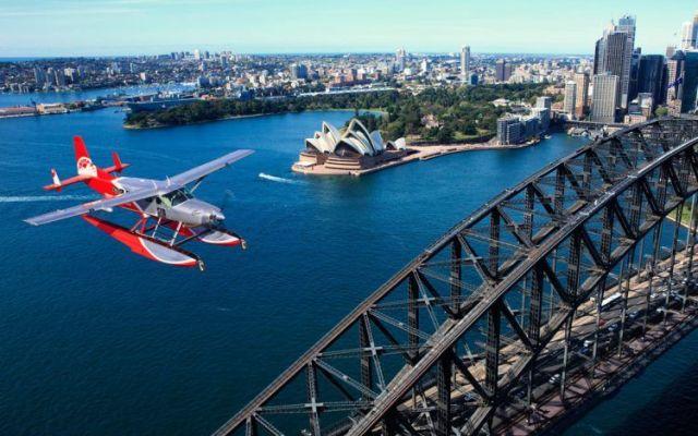 Mueren seis personas en accidente aéreo en Sidney - Foto de Sidney Seaplanes