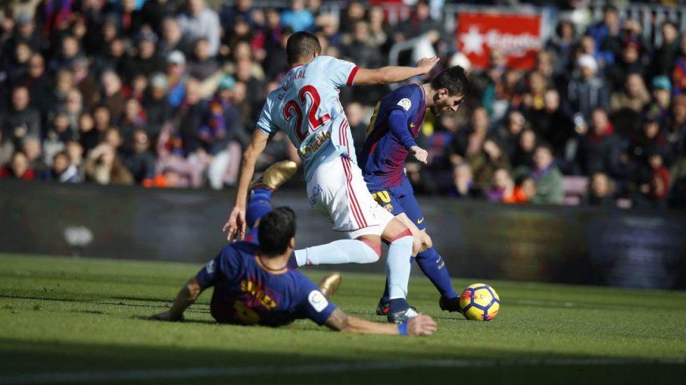 Celta de Vigo le saca el empate al Barcelona - Foto de @FCBarcelona_es