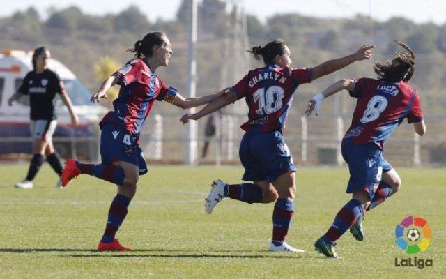 Gol de Charlyn Corral es el mejor del año en la liga española - Foto de Internet