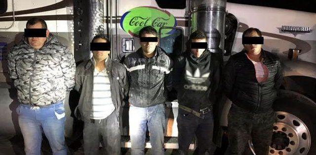 Policía Federal desarticula banda dedicada al robo de transporte de carga
