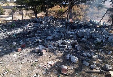 Un muerto y un herido por explosión de polvorín en el Estado de México - Foto de Milenio