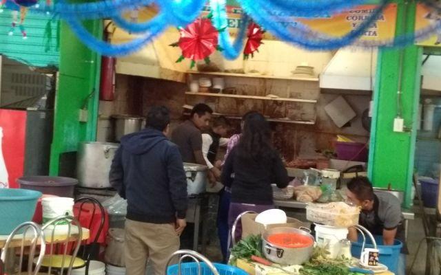 Explosión deja dos lesionadas en mercado de la colonia Narvarte - Foto de @Foro_TV