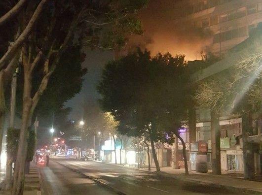 Controlan incendio en la Roma Norte