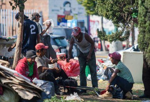 Hay más de seis mil indigentes en la Ciudad de México - Foto de Internet