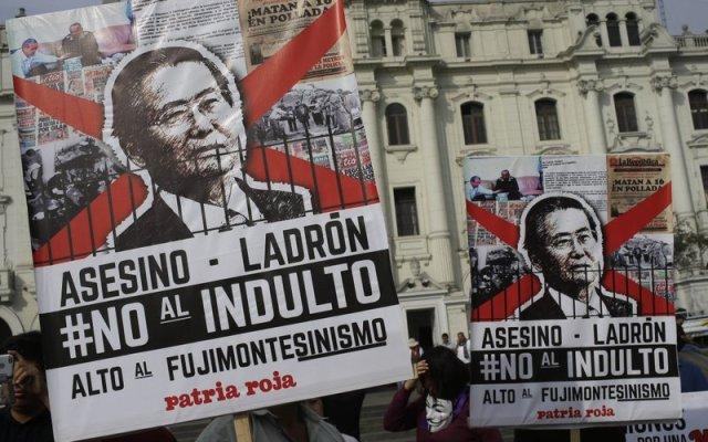 ONU lamenta indulto a Fujimori - Foto de AP