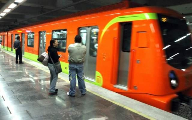Reportan humo en tren de la estación Oceanía - Foto de internet