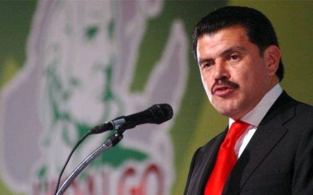 Nombran a Francisco Olvera nuevo presidente del PRI en la capital