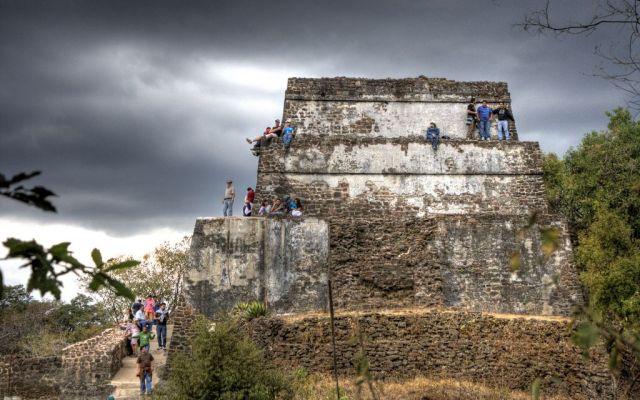 Reabren zona arqueológica de El Tepozteco tras sismo - Foto de Internet