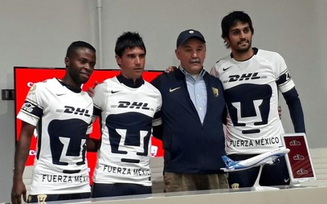 Pumas presenta a sus refuerzos para el Clausura 2018 - Foto de Medio Tiempo