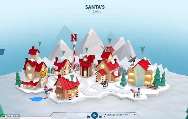 Lanzan sitio web para seguir el camino de Santa Claus