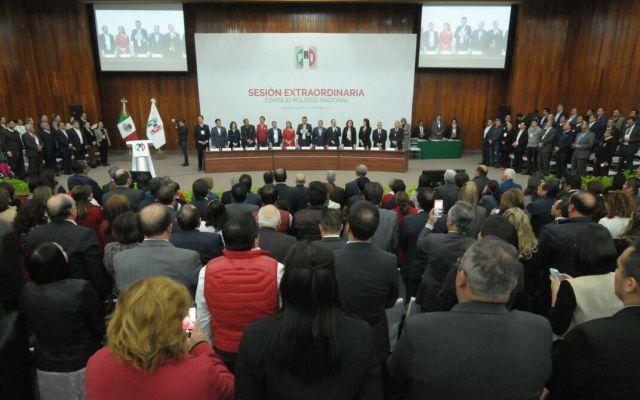 PRI aprueba alianza con PVEM y Panal - Foto de Twitter PRI