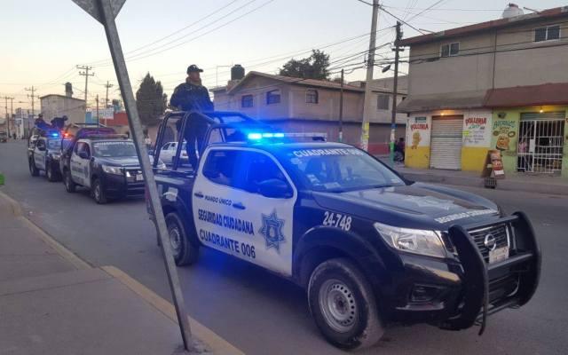 Detienen a policías del Estado de México por robo - Foto: SSEM Archivo.