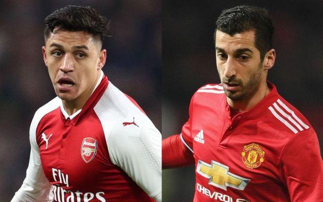 Arsenal y United concretan cambio de Alexis Sánchez por Mkhitaryan - Foto de SkySports